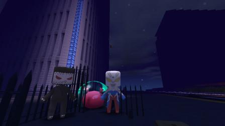 迷你世界塞罗卖超级宠物没想到半夜给达达星人偷走了