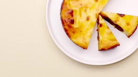 最适合秋冬的红薯栗子芝士蛋糕做法,醇厚香甜,太好吃了!