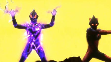 小队的对决!泰迦小队vs黑暗奥特曼小队,正义与邪恶的较量