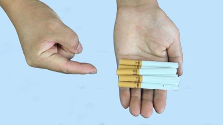 神出鬼没的香烟:为什么可以从手心里瞬间消失又出现?其实特简单