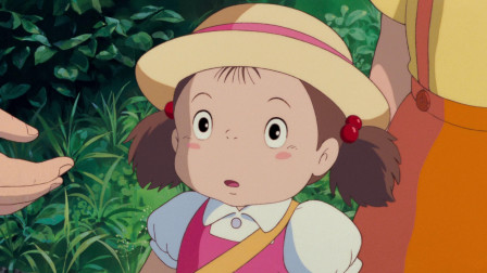 龙猫:爸爸带着小梅和小月去拜访森林的主人