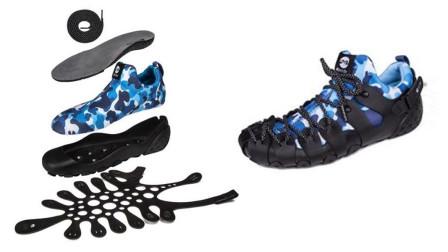 一双鞋子相当于2双,可以穿一年,能在室内外和