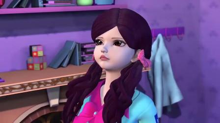 孩子爱看动画片精灵梦叶罗丽:叶罗丽娃娃可以给文茜力量,文茜就能得到舒言了
