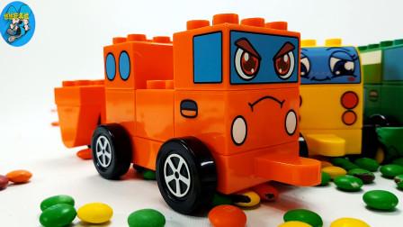 惯性玩具车,儿童玩具游戏,小汽车彩豆和小飞机玩具,儿童玩具亲子互动