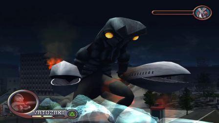 沙漠游戏《奥特曼格斗进化1》第1打怪兽娱乐解说