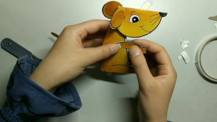 手工玩具,DIY制作小老鼠,好可爱的小动物