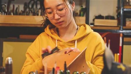 一件卖上千元,90后女孩痴迷手工做包包,看完制作过程我都想要了