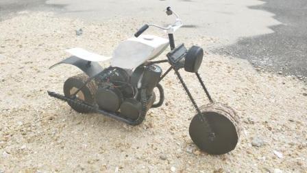 教你如何制作酷炫会跑的哈雷摩托车!