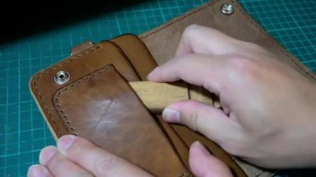 如何手工制作牛皮钱包