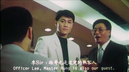 香港黑帮电影:黑帮老大非常嚣张,对方这种身份都敢挑衅!