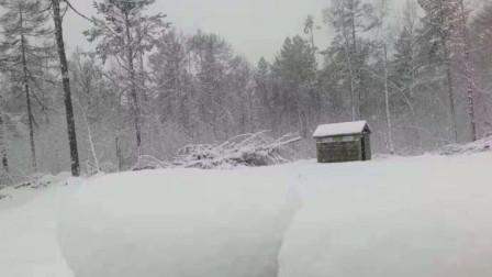 内蒙古大兴安岭喜迎2020年第一场雪