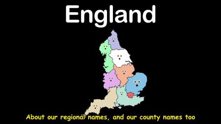 英语儿歌 英国地理歌 England Country Song
