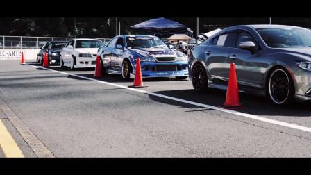 日本玩车党的场地漂移聚会