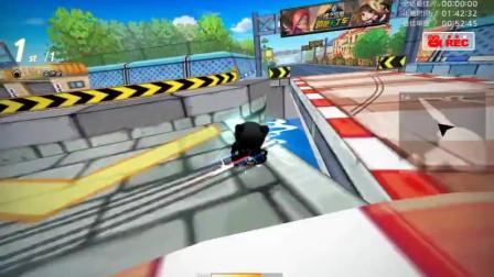 跑跑卡丁车:S1职业玩家,真的是开挂也跑不赢