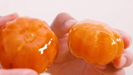 """这才是""""橘子""""最过瘾的吃法,看饿了!"""
