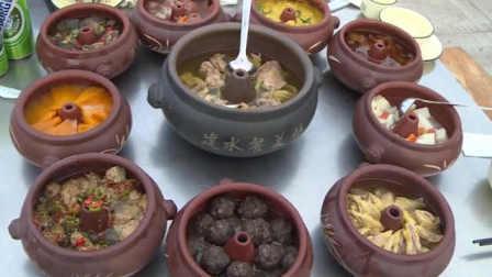 云南建水摆百桌汽锅宴:汽锅鸡领衔,原汁原味超级鲜美