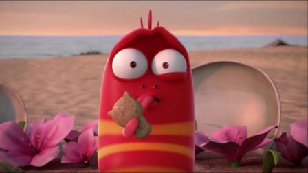 爆笑虫子:红虫女朋友抱起黄虫狂亲,也不skr