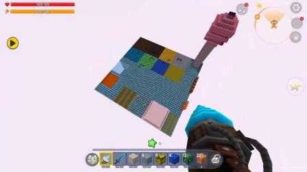 迷你世界:钻石大陆,欣然挖钻石挖到手软,还有一大堆的房主神器