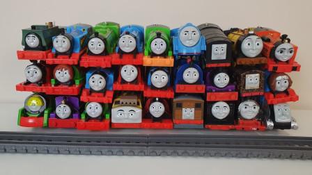 托马斯小火车头电动轨道车 托马斯和他的朋友们汽车玩具车合集