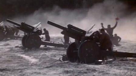 经典的历史战争片,面对德军一路挺近,苏军用火箭炮齐射