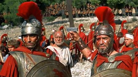 经典的历史战争片,斯巴达勇士宁死不降,誓与敌军战死沙场