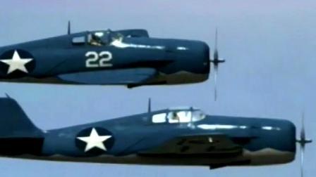 二战中美国设计出新型战机日本称霸天空的零式战机被吊打完虐