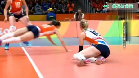 里约奥运半决赛:面对明显的落地球,线审坑了中国女排,真是无语