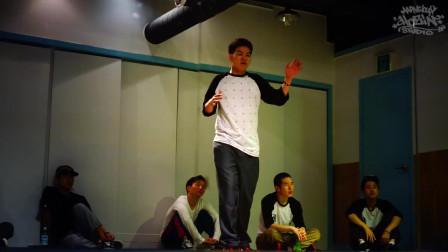 街舞牛人 舞蹈牛人:HOZIN课后练习