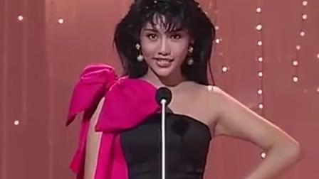 邱淑贞当年参加港姐的精彩片段,那个时候的她真的太嫩了!