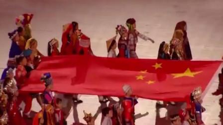 08年奥运会响起《歌唱祖国》,作者后人讲背后故事,感动全场