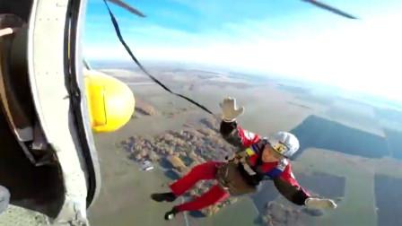 俄跳伞男子因降落伞失灵 从800米高空坠地