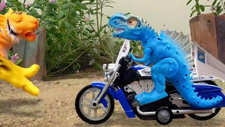 亮亮玩具狗狗踢足球,组装飞机,恐龙骑摩托车,学习外语动画,婴幼儿宝宝过家家游戏视频I385