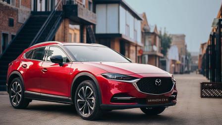 外观更加动感,颜值进一步提升,新款马自达CX-4细节图发布
