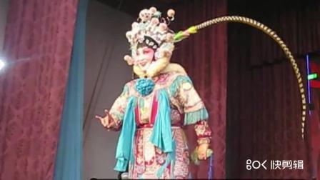 新华河北梆子剧团黄庄演出 薛平贵招亲