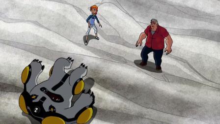 少年骇客:小班多次变身,竟然打不败这个怪物,太可怕