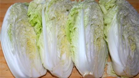 白菜最好吃的做法,5斤白菜不炒不炖,装盘比红烧肉还好吃,香