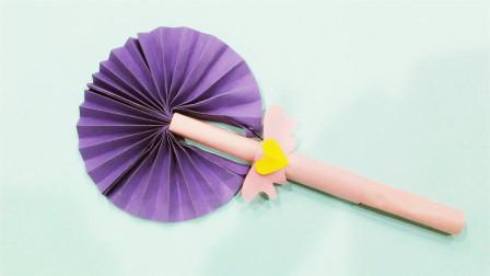 儿童手工制作大全 可爱扇子制作 手工扇子DIY
