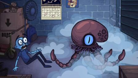 史上最坑爹最贱:遇到深海巨怪八爪鱼?