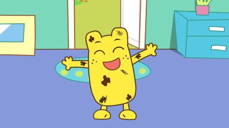 咕力咕力:我爱洗澡 不爱洗澡的黄咕力,让宝宝爱上洗澡注重卫生