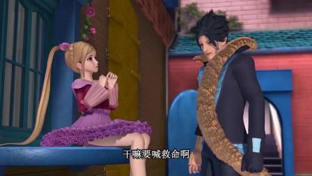 孩子爱看动画片精灵梦叶罗丽:只要莫纱说了那句话,荒石就不能伤害莫纱了