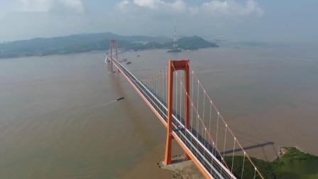 舟山秀山大桥今天建成通车