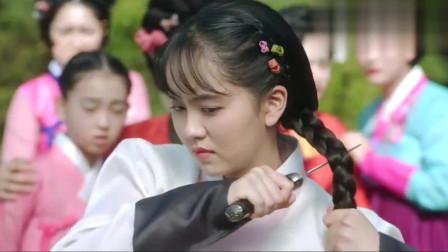 绿豆传:金所炫新剧首播!为了救孩子,剪断了自己的头发!