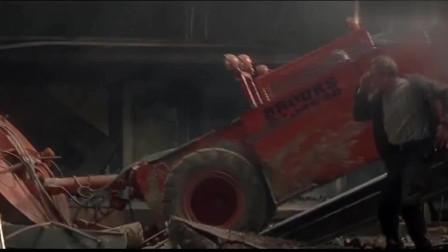 虎胆龙威最好看的一部,黄金用铲车铲