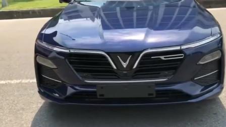看看越南造的首款轿车的样子,欣赏VinFastLuxA2.0!