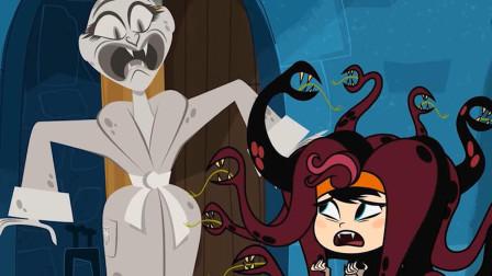 吸血鬼戴上蛇发头套后,竟把美杜莎本人给石化,这是什么操作?