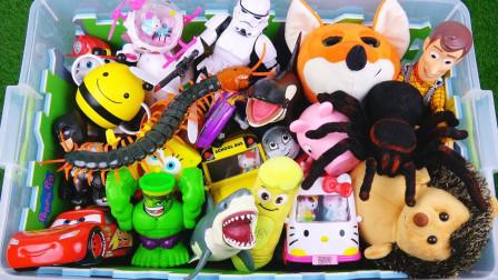 太精彩了!小猪佩奇的玩具都是什么颜色的?汪汪队趣味玩具故事