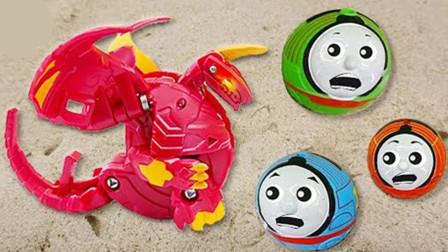怎么回事!为何托马斯和他的朋友们变成圆形了?他们怎么击败怪兽