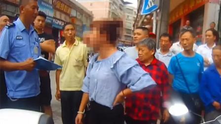 【重庆】女子不配合民警执法 挥手打掉民警警帽被拘