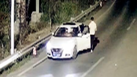 【重庆】无证驾驶上高速遇检查 临时换人被监控拍下