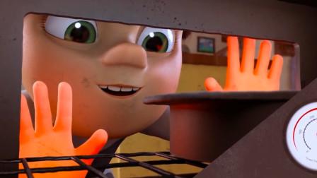 小男孩中毒后获得超能力,只要伸出双手,瞬间就可以把蛋糕烤熟